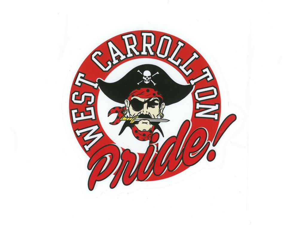 West Carrollton Pride Pirate Logo