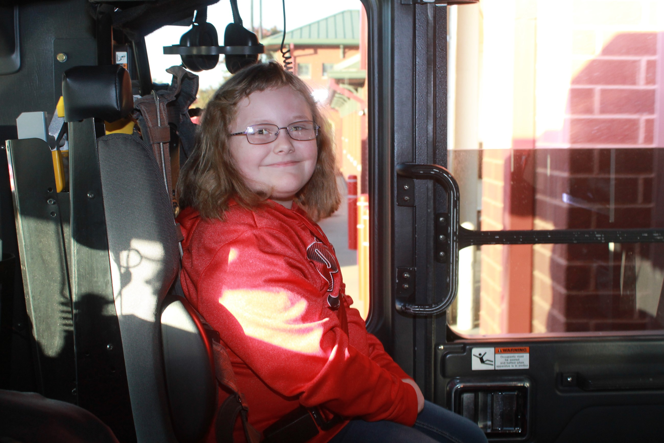 A Ride in the Fire Truck