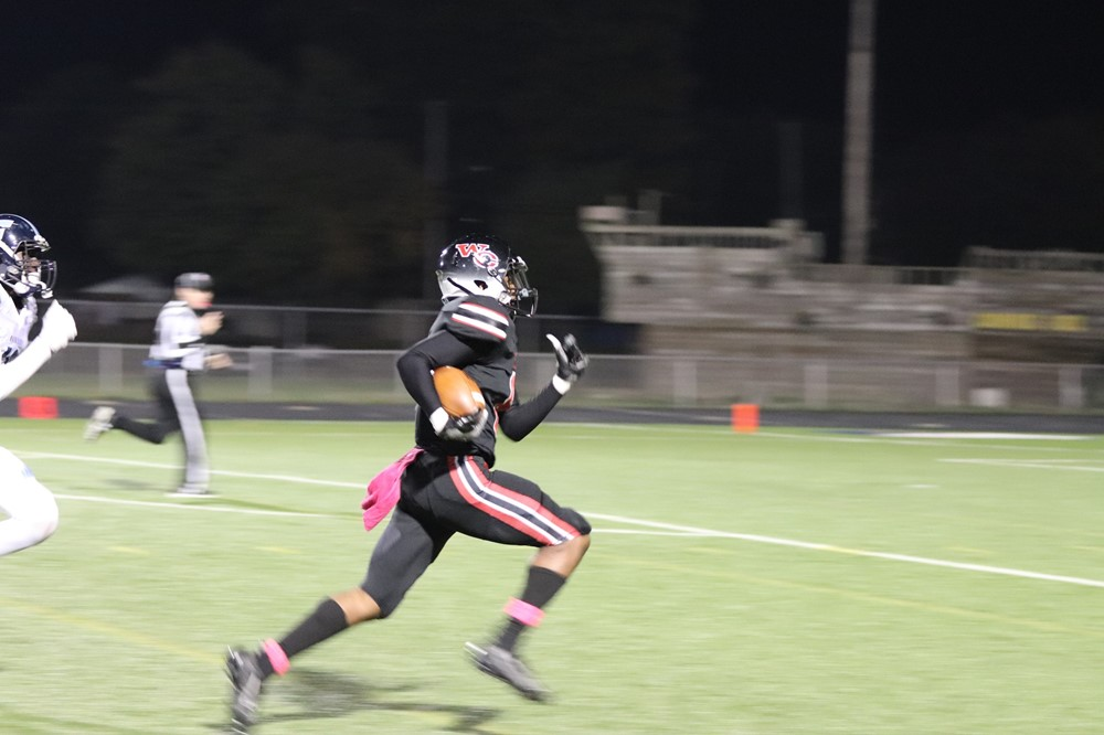 Running for the Touchdown