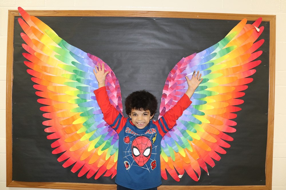 Nicholas Students Have Wings