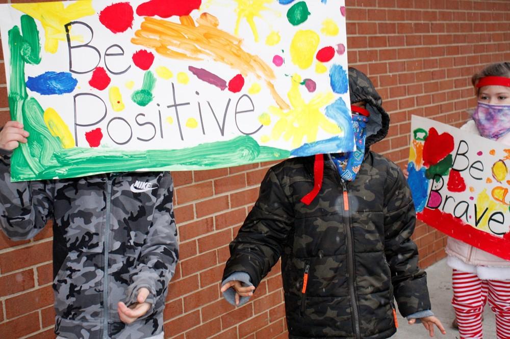 Kindness Ninjas Be Positive