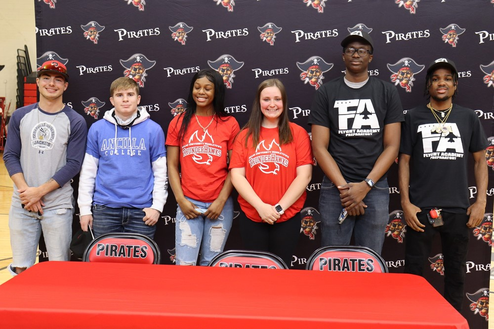 Signing Day for Athletes